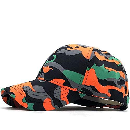 YDXC Gorra de béisbol de Camuflaje para Hombre Gorra para Hombre Sombrero con Solapa Sombrero de Camionero de Pesca Aplicar a la Pesca en Funcionamiento Etc-01_55-60Cm_Adjustable