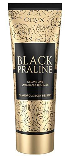 Onyx Black Praline Dark Sunbed Lotion Sofortiger Effekt