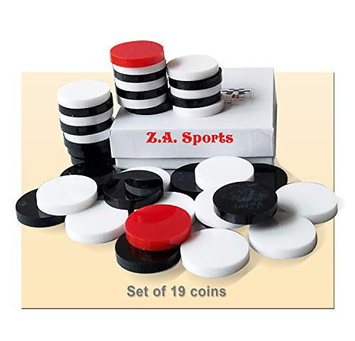 Carrom Carom Board Disks Plastic Acrylic Coins for Smaller Boards
