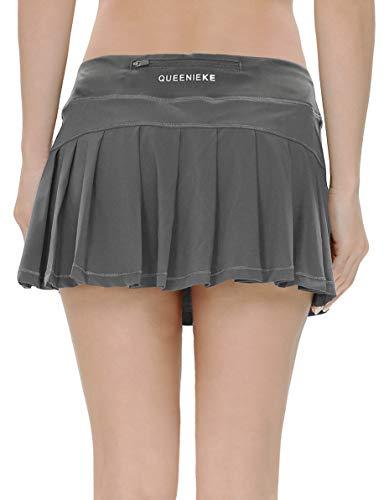QUEENIEKE Falda ultra para mujer con pantalones cortos deportivos, de gimnasio, de...