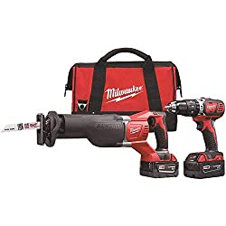 Milwaukee M18 Drill/Driver and Reciprocating Saw Combo Kit