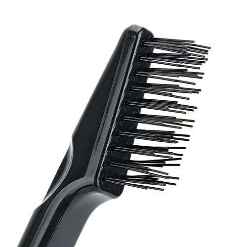 Pwshymi Cepillo para el Cabello Herramienta para peinar el Cabello Limpiador de Polvo para Uso doméstico para Uso en el Cabello para Uso en Mujeres Uso para Uso en Hombres(Comb)