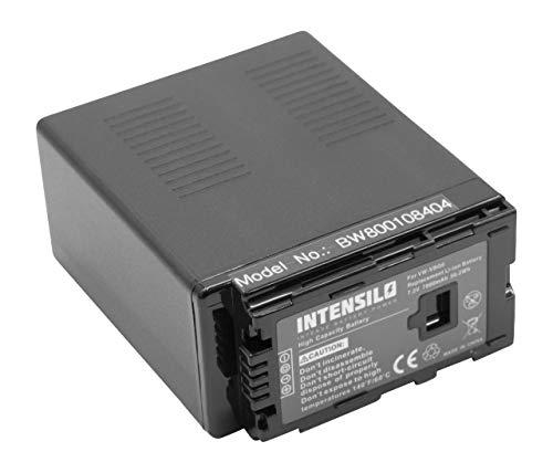 INTENSILO Li-Ion batería 7800mAh (7.2V) para cámara de Video Panasonic AG-AC130AEJ, AG-AC130AP, AG-AC160 por VW-VBG6, VW-VBG6GK, VW-VBG6-K, VW-VBG6PPK