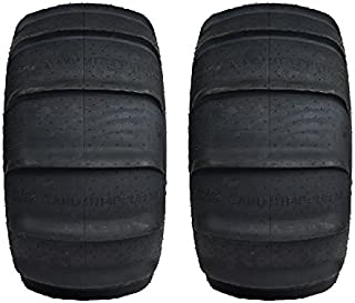Pair of GMZ Sand Stripper XL Paddle Rear (4ply) ATV Tires [30x15-14] (2)