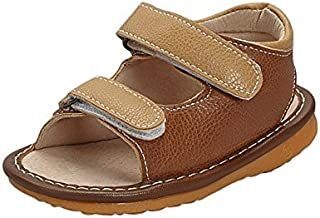 Sneak A' Roos Little Boy's Squeaky Toddler Sandal