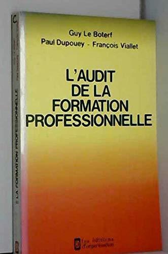 L'audit de la formation professionnelle