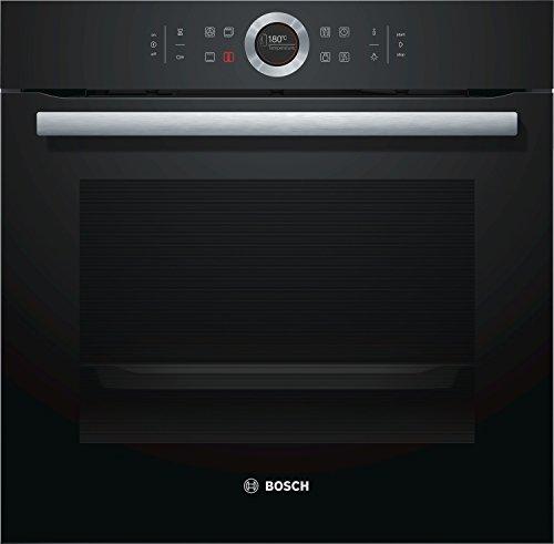 Bosch HBG635BB1 Serie 8 Einbau-Backofen / A+ / 71 L / Schwarz / Klapptür / TFT-Display / 13 Beheizungsarten / AutoPilot 10 / EcoClean Direct / 4D Heißluft
