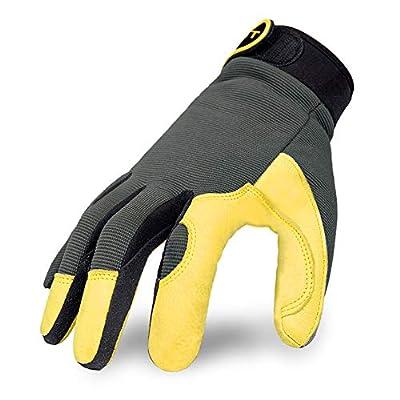 Intra-FIT Genuine Deerskin Work Gloves