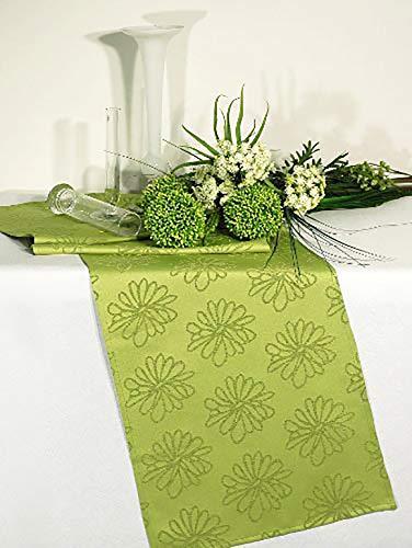 Grüner Tischläufer mit Lotus-Effekt