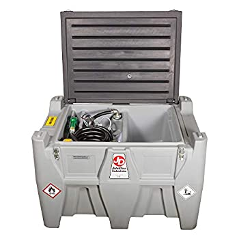 JohnDow Industries JDI-AFT106 106-Gallon Auxiliary Diesel Fuel Tank with 12 Volt Electric Transfer Pump  JDI-AFT106-A
