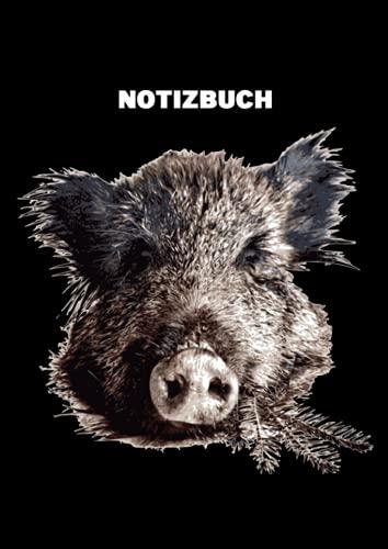 Jäger Notizbuch: Tolles Jäger Notiz buch - 120 gepunktete Seiten - für Berichte, Ideen und Gedanken