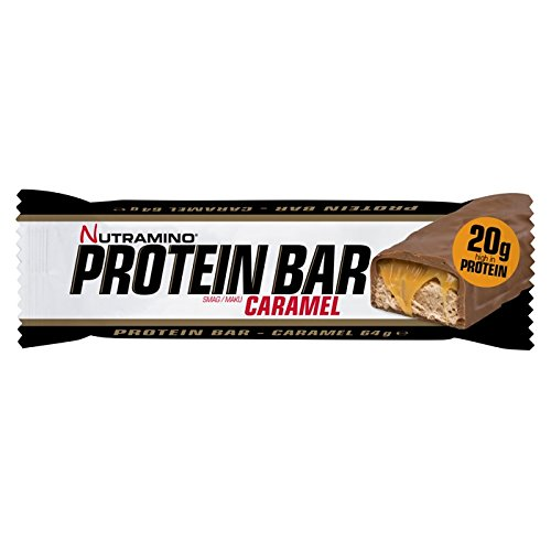 Nutriamino Chunky Peanut and Caramel Protein Bars - Pack of 12