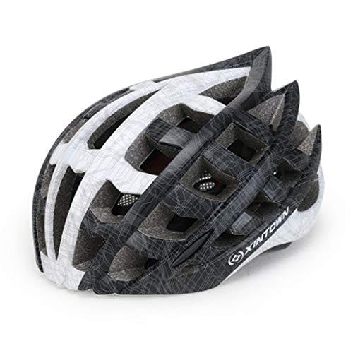 JM- Mountainbike-Helm für Erwachsene mit integriertem Formungshelm für Fahrräder