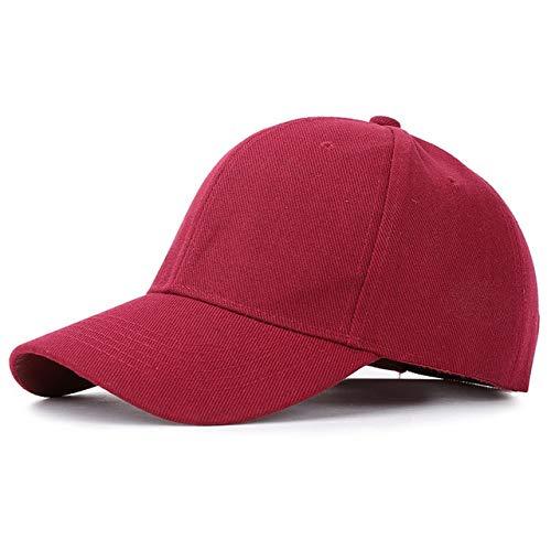 Plain Solid Color Baseball Caps 22 Multicolor Men Women Visor Hat Adjustable Nylon Fastener Tape Casual Sports Hats