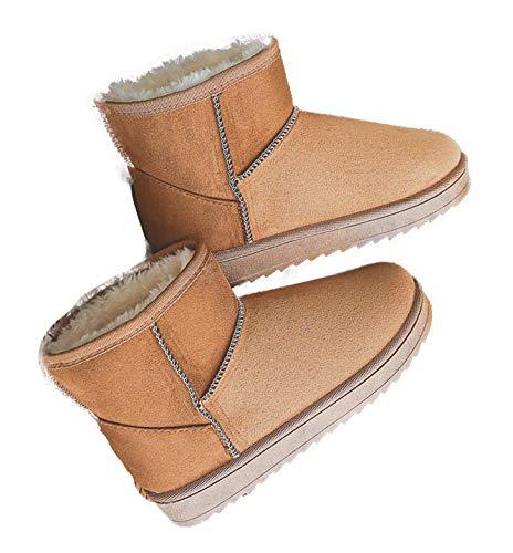 [SUNKAKU] ムートンブーツ ブーツ 厚底 冬 冬用 冬物 ショートブーツ ムートン ローヒール ブーツ カジュアル スエード スエード調 スウェード スウェード調 厚底 歩きやすい 履きやすい かわいい サイドジップ 革 皮 防水 アンクル レイン