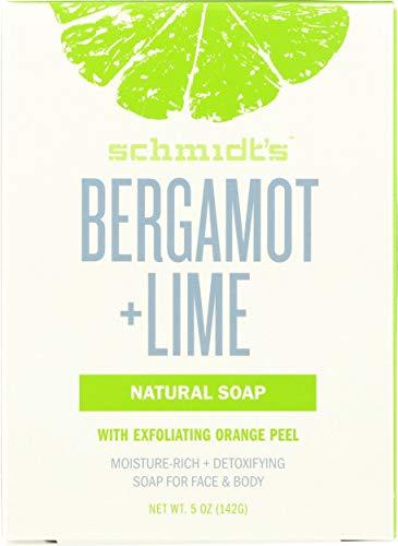 Schmidt's Bergamot Plus Lime (Fresh and Invigorating), 3.25 Ounce