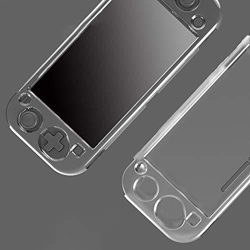 Goodtimera - Funda para Nintendo Switch Lite (ultraligera, antigolpes y antideslizante), color transparente