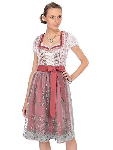 Stockerpoint Damen Londa Dirndl, Mehrfarbig (Beere Beere), (Herstellergröße: 40)