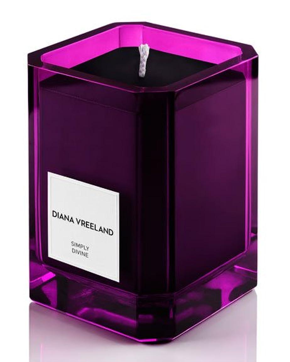 夏アボートコンサルタントDiana Vreeland Simply Divine(ダイアナ ヴリーランド シンプリーディヴァイン)3.4 oz (100ml) Candle(香り付きキャンドル)