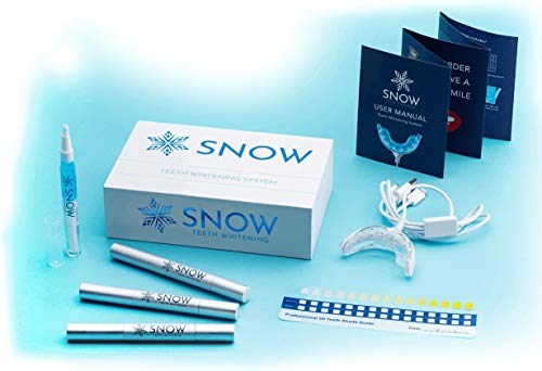 Snow Teeth Whitening Kit All-in-One at-Home Teeth Whitening System for Whiter Teeth Without...