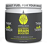 Nootropic Brain Booster by Mental Mojo (90 Servings) Nootropic Drink Mix & Brain Supplement - Brain...