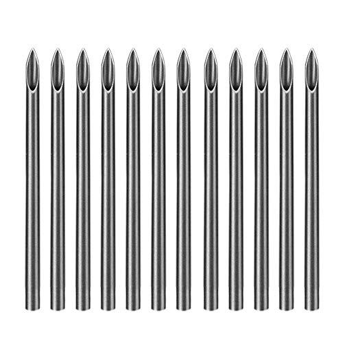 ATOMUS 100 Mix Body Piercing Needle Sizes 12g 14g, 16g, 18g and 20g Body Art Tattoo Equipment Supplies Tattoo Machine Tool Supply Body Piercing Tool (MIX SIZE)