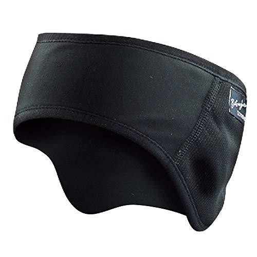 おたふく手袋 ボディータフネス 発熱防風 保温 イヤーウォーマー ブラック JW-127
