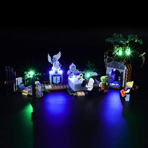 BRIKSMAX Kit de Iluminación Led para Lego Hidden Side Misterio del Cementerio,Compatible con Ladrillos de Construcción Lego Modelo 70420, Juego de Legos no Incluido