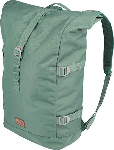 McKINLEY Daybag London Rolltop Unisex, Green Dark, One Size