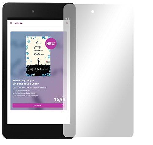 Slabo 2 x Bildschirmschutzfolie für Medion E6912 E-Tab Bildschirmschutz Schutzfolie Folie Crystal Clear KLAR
