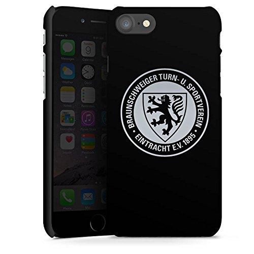 DeinDesign Premium Case kompatibel mit Apple iPhone 8 Smartphone Handyhülle Hülle matt Eintracht Braunschweig Offizielles Lizenzprodukt Fußball
