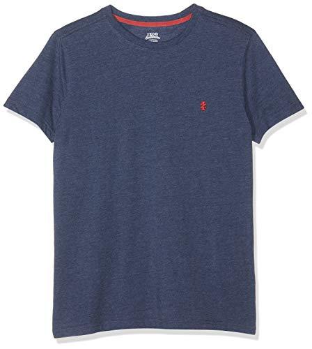 IZOD Basic Tee – kurzarm T-Shirt, Blau (Club Blue 432), Medium