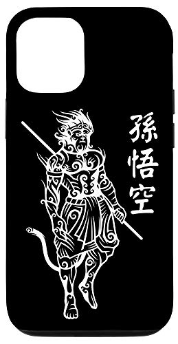 iPhone 12/12 Pro Sun Wukong Monkey King Chinese Characters Letters Case