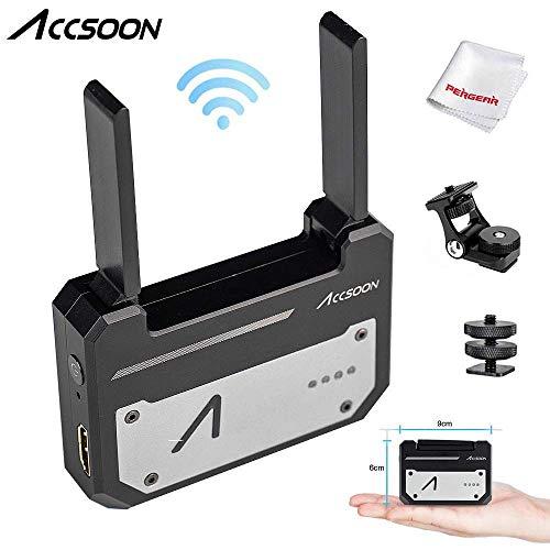 Accsoon CineEye 1080p WiFi HDMIトランスミッター 5G ワイヤレス画像伝送 100mの距離で4つのデバイスへ An...