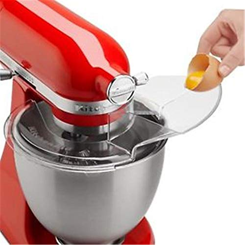 Zihui 1pz KN1PS Sostituzione Ciotola Versare Scudo Mixer Versare Scudo Versare Testa Inclinabile per Aiuto Cucina Miscelatore, 4.5-5 Quart.