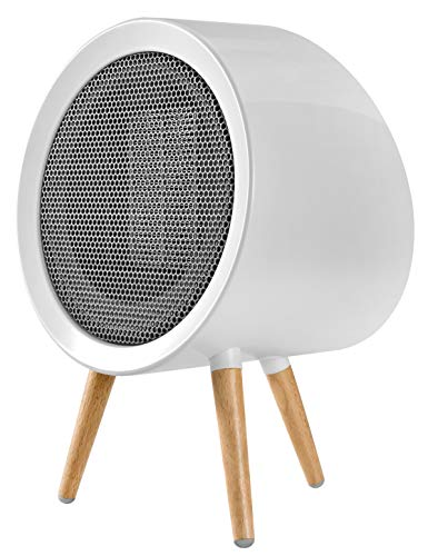 Portable Ceramic Space Heater, Energy Efficient Small Space Heater for Bedroom Electric Space Heater for Office and Home