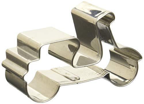 Birkmann 1010697810 Ausstechform Motorroller, Kunststoff, Grau, 5 x 3 x 2 cm