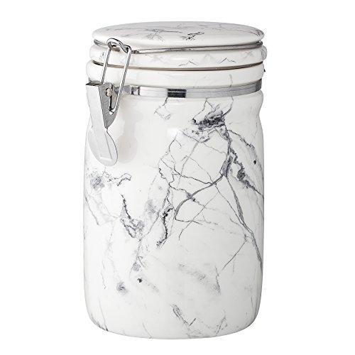 Bloomingville A75709387 - Bote grande con cierre de acero inoxidable, porcelana, multicolor