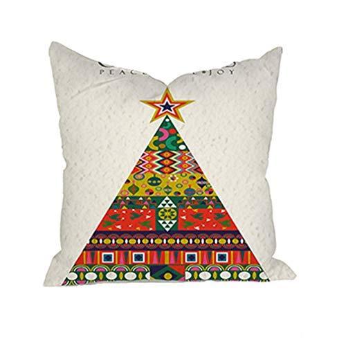 Fundas de almohada de estilo étnico, fundas de cojín cuadradas, fundas de almohada para sofá, cama, sofá, decoración del hogar, funda de almohada decorativa de 45 x 45 cm, 4 #