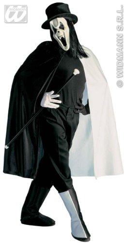 WIDMANN Disfraz Rock Ghost, Fantasma de la Opera, Espectro - Adulto - Talla M