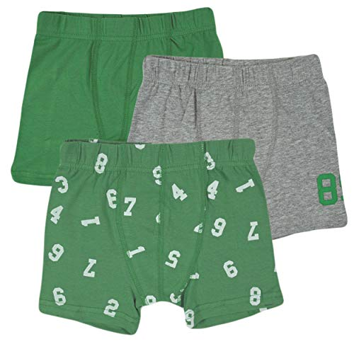 NAME IT baby-jongens NMMTIGHTS 3P NOOS broek, meerkleurig (groen medium groen), (fabrikantmaat:86)