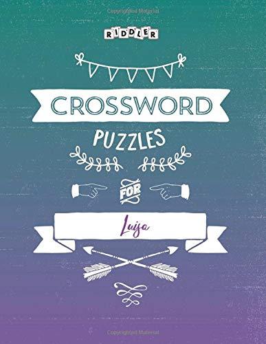 Crossword Puzzles for Luisa