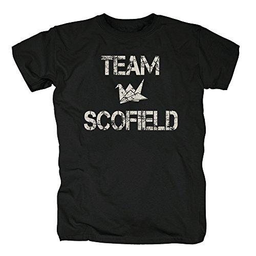 TSP Team Scofield T-Shirt Herren XXXXL Schwarz