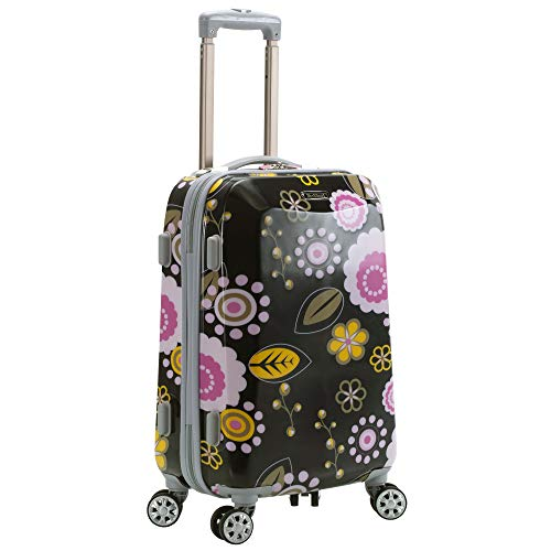 Rockland Vision Hardside Spinner Wheel Luggage, Pucci, Carry-On 20-Inch