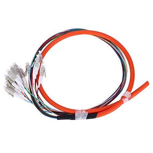 Jeanoko Gran compatibilidad LC/UPC-62.5/125 1,5 metros fibra óptica del cable de la...