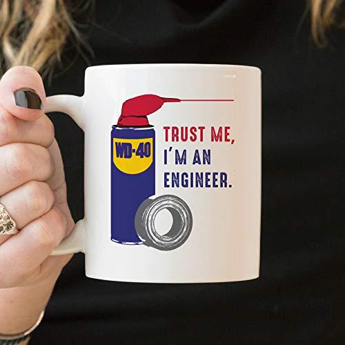 Taza de graduación de ingeniero, regalo de graduación, ingeniero mecánico, regalo divertido de graduación de ingeniero, regalo de grado de ingeniería