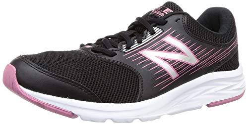 New Balance 411, Zapatillas de Running para Mujer, Negro (Black/Mineral Rode/White Lp1), 39 EU