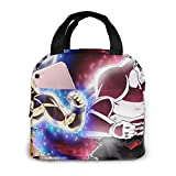 Son Goku Dragon Ball Super Ultra Instict Mastered Ultra Instinct Lunch Bag Tote Bag para mujeres...