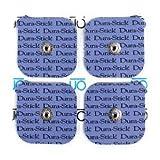 Electrodos marca Durastick 5x5 cm para Electroestimulador Compex (envase 4 uds)