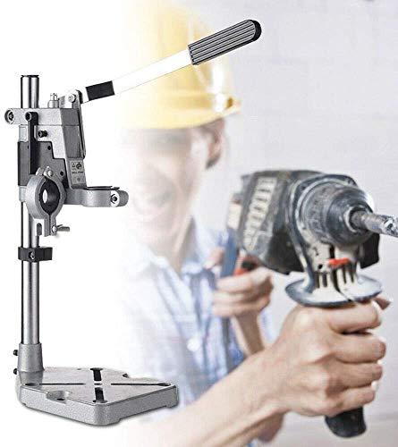 Multifuncional Soporte para Taladro Eléctrico Soporte con Abrazadera para Perforación Banco de Prensa Banco de Trabajo para Reparación con Base 38 & 43mm